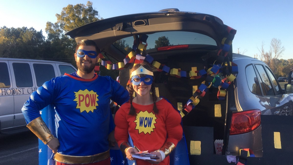 Join Asbury United Methodist Church for fun, excitement and bottomless candy at their annual Trunk or Treat on October 28