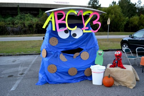 Birmingham, The Church at Grantsmill, Trunk or Treat, trick or treat, Halloween, Cookie Monster, October