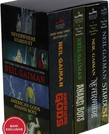 Birmingham, Books-A-Million, Neil Gaiman, Neil Gaiman's box set
