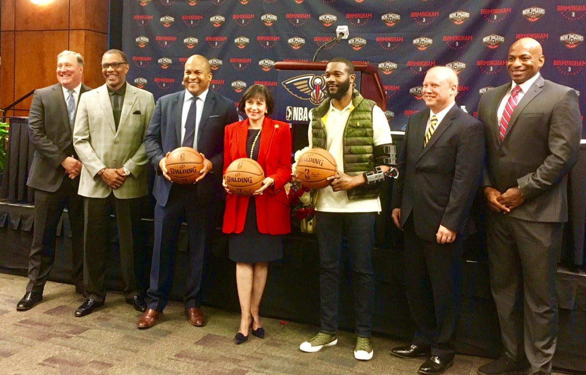 NBA's New Orleans Pelicans to establish a Birmingham G League team in 2022