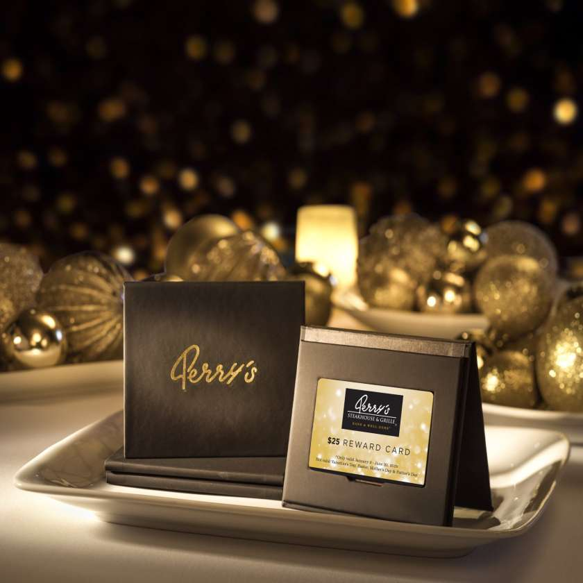 Birmingham, Alabama, Perry's Steakhouse & Grille, gift card