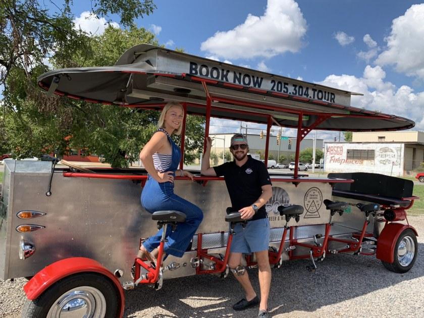 Birmingham, Alabama, Birmingham Pedal Tours, Claire Kobza, Jason Kobza