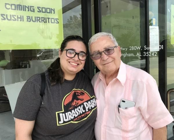 Birmingham, Alabama, Wasabi Juan's, Maximo Pinon, Jessica Toro Hardisson Hispanic Heritage Month