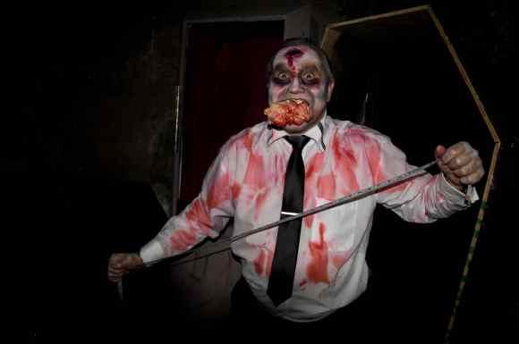 hBirmingham, Pelham, Warehouse 31, Halloween, October, haunted house