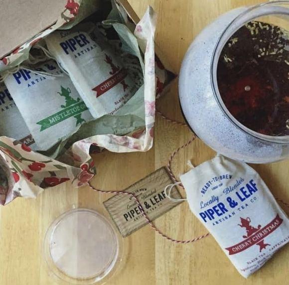 Birmingham, Piper and Leaf, hot tea, tea, tea companies, local tea companies