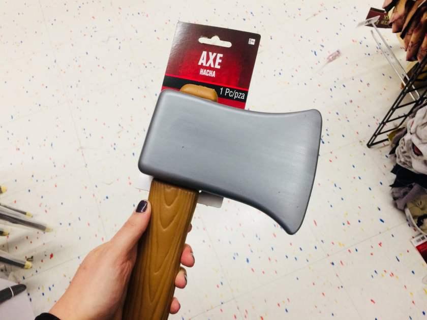 Birmingham, Halloween, Stranger Things, axe, Halloween accessories