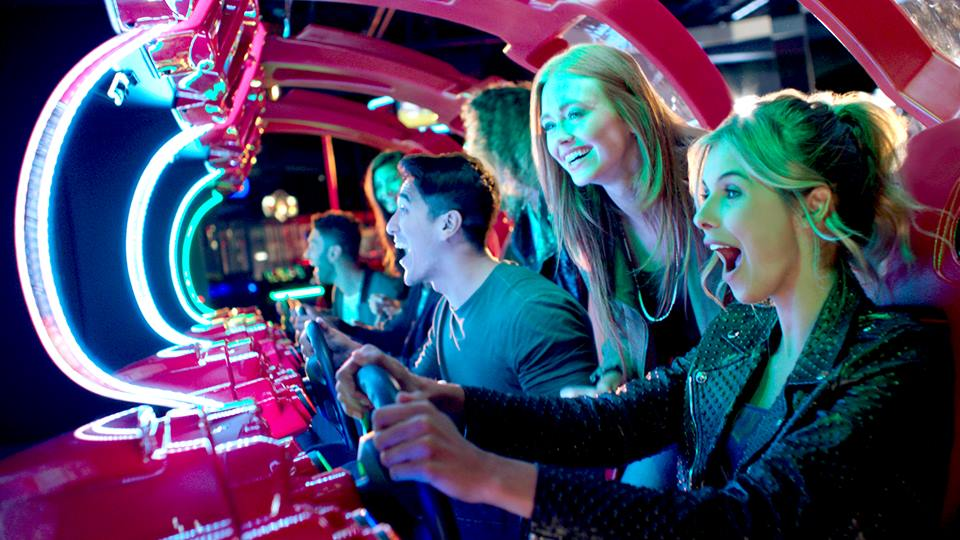 Want to work where you love to play? Good news: Dave and Buster's is hiring.