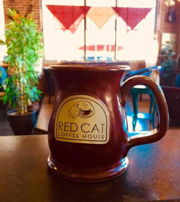 Birmingham, Red Cat Coffee House, local tea, coffee and tea