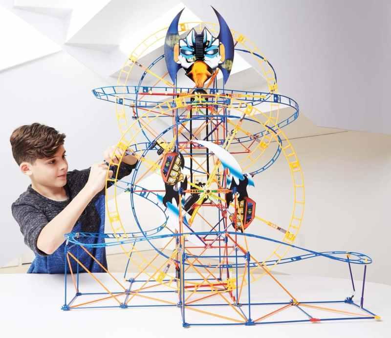 Birmingham, K'NEX Thrill Rides – Bionic Blast Roller Coaster, top toys 2018