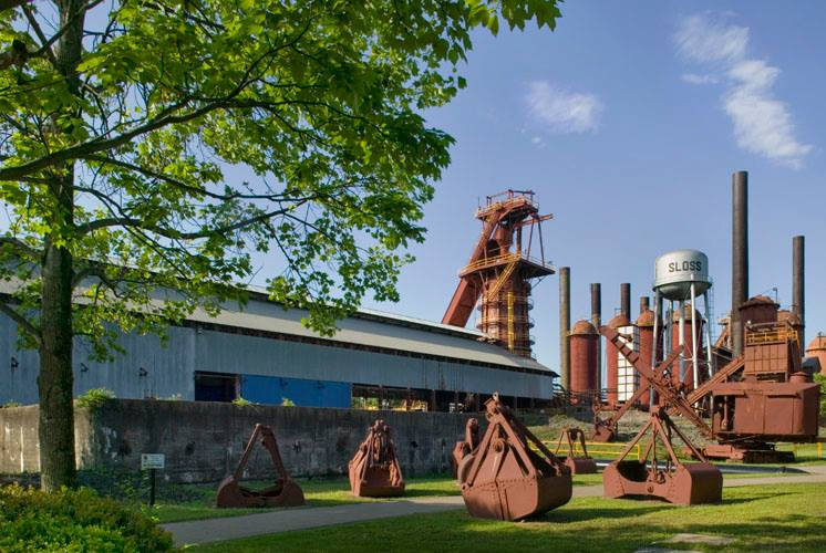 Birmingham, Sloss Furnaces