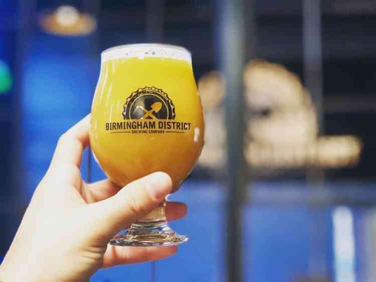 Alabama, Birmingham District Brewing Co., beer, The Battery