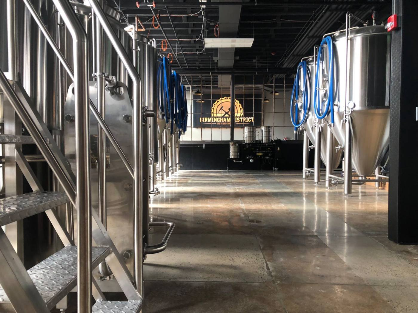 Alabama, Birmingham District Brewing Co., The Battery