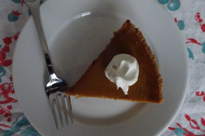 Birmingham, Alabama, pumpkin pie, black bottom pumpkin pie, Match chocolate, Match cocoa powder