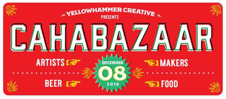 CahaBazaar's holiday market is a great place to get gifts from Birmingham makers.