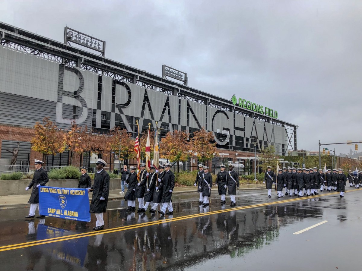 Scenes from one of Birmingham's most treasured events, the 71st annual National Veterans Day