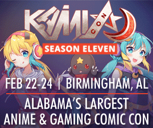 Kami Con - Alabama's Largest Anime & Gaming Comic Con - Feb. 22-24, 2018
