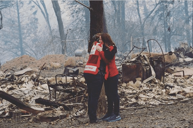 Birmingham, American Red Cross, California Wildfires, California fires, California Camp Fire, California Woolsey Fire, California Hill Fire