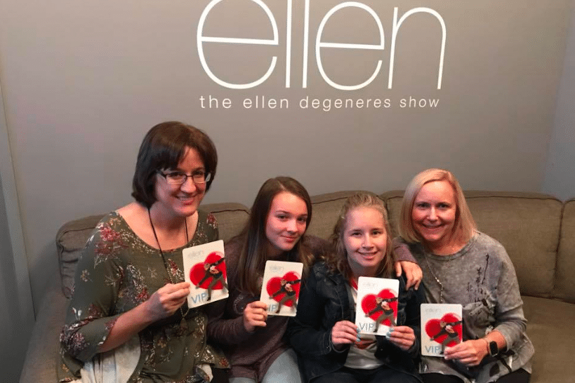 Awesome Mary meets Ellen and takes over Hollywood, thanks to Magic Moments