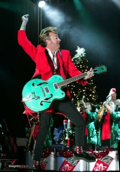 Birmingham, Brian Setzer Orchestra, Birmingham Theater, holiday music, holiday concerts, Christmas music, Christmas concerts