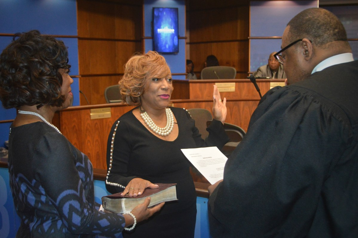 Alexander appointed to fill Birmingham's District 7 seat. Parker named pro-tem. Council seeking 2 additional applicants.