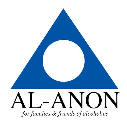Al-Anon logo for a piece on where to turn in Birmingham when holiday depression sets in, including a Blue Christmas service.