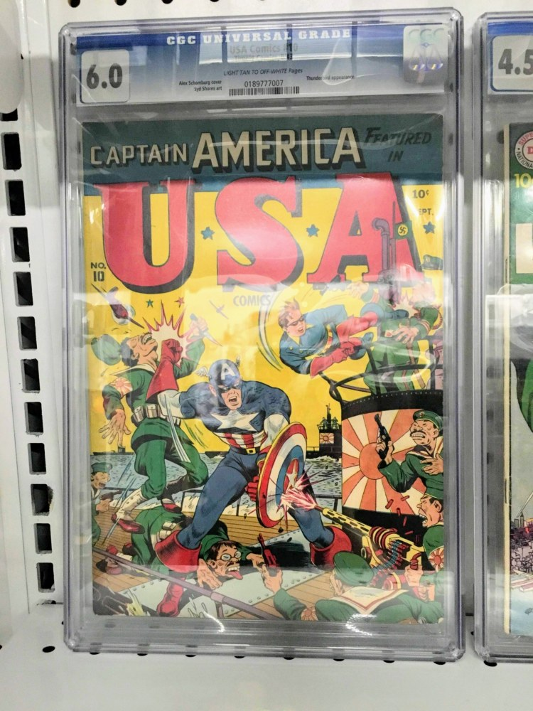 Legion is one of the Birmingham comic book stores where you can find rare comics.