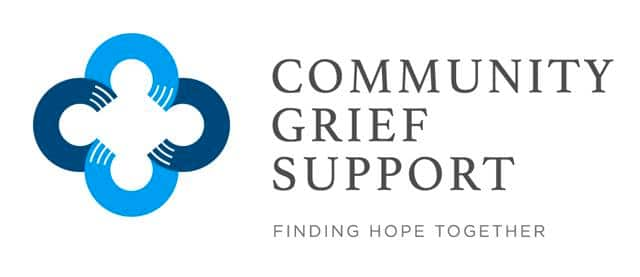Community Grief Support logo in a piece on holiday depression in Birmingham, and where to turn for grief or loss. Plus, a Blue Christmas service.
