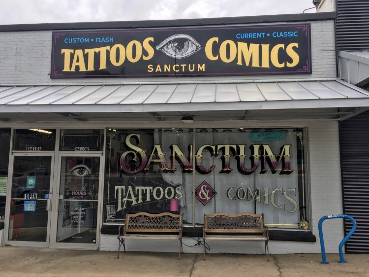 Sanctum Tattoos and Comics is one of the Birmingham comic book stores Bham Now visited to find treasures.