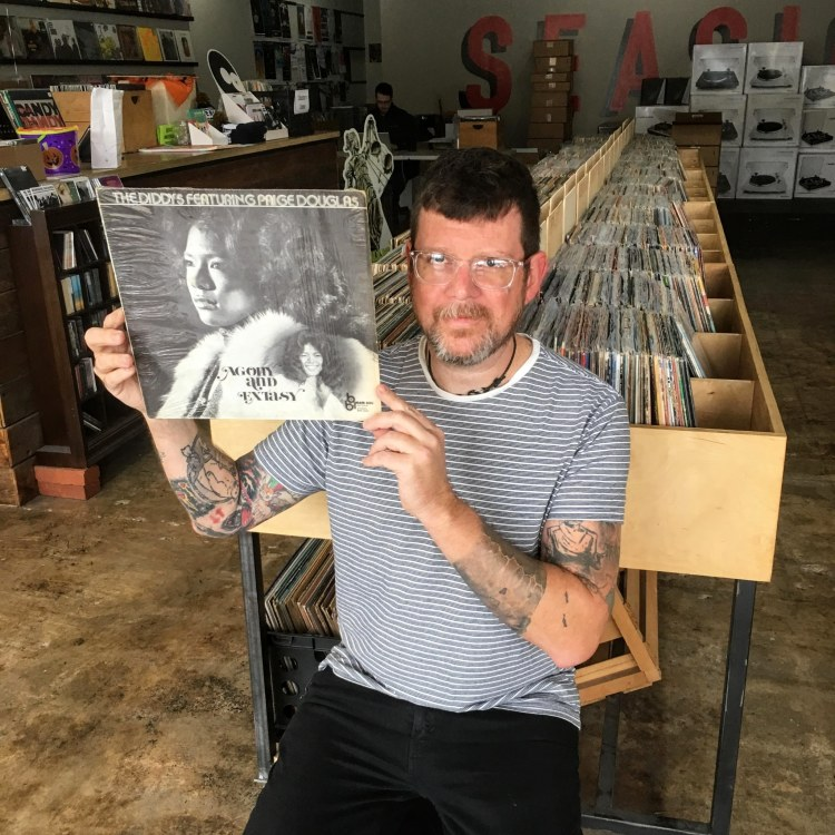 Seasick Records is one of the Birmingham record stores where you can find treasures.