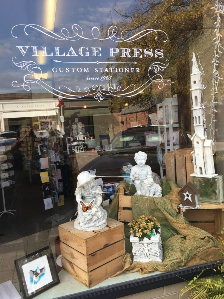 Birmingham locally made holiday cards are available at Village Press in Mountain Brook.