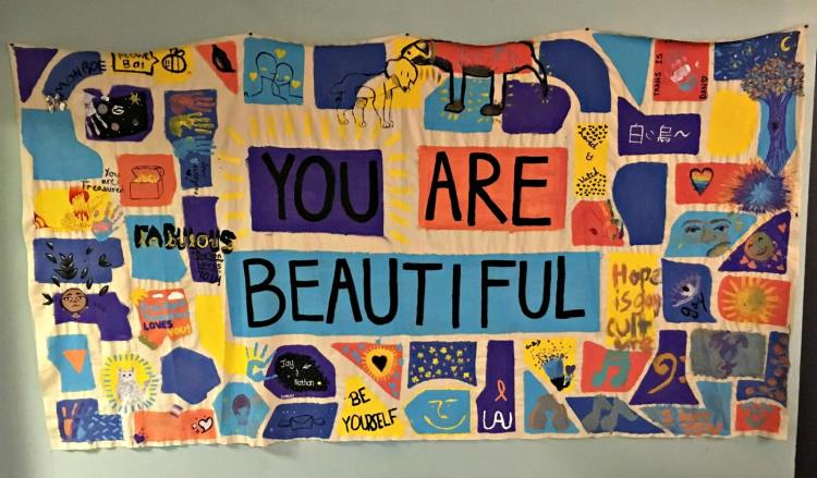 You are Beautiful quilt from the Magic City Acceptance Center.