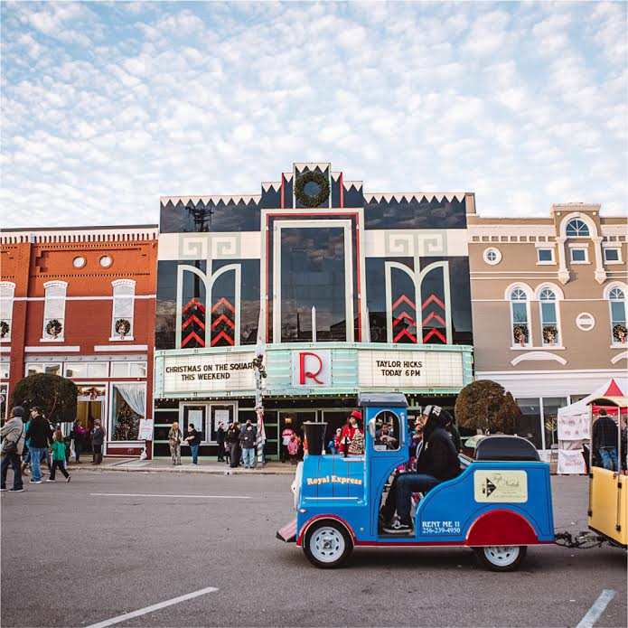Birmingham, Talladega, Christmas on the Square, holidays, Ritz Theatre