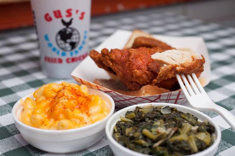 Birmingham, Gus's Fried Chicken, restaurants, food