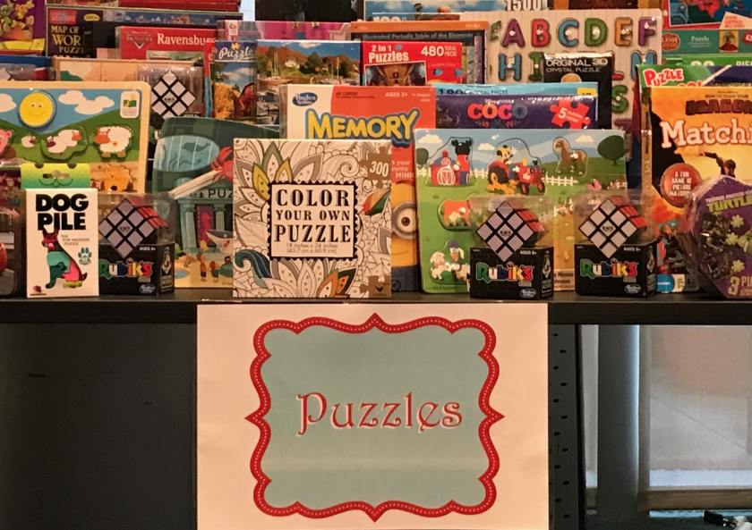 Birmingham, Alabama, Children's of Alabama Sugar Plum Shop 2018, Regions Bank, puzzles, toys