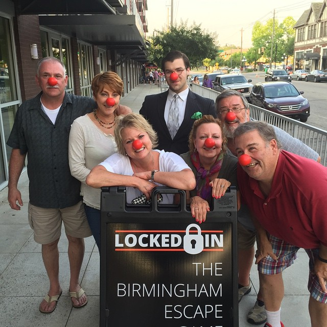 Birmingham, Locked In, escape rooms, holiday entertaining