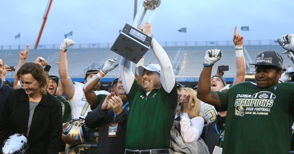 UAB Football rules! The sights and sounds from the C-USA championship game