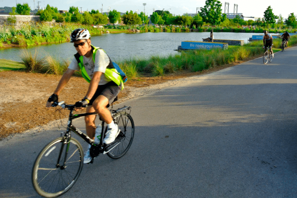UAB's Greg Harber has bicycled to work everyday since 2013. See how much money he saved