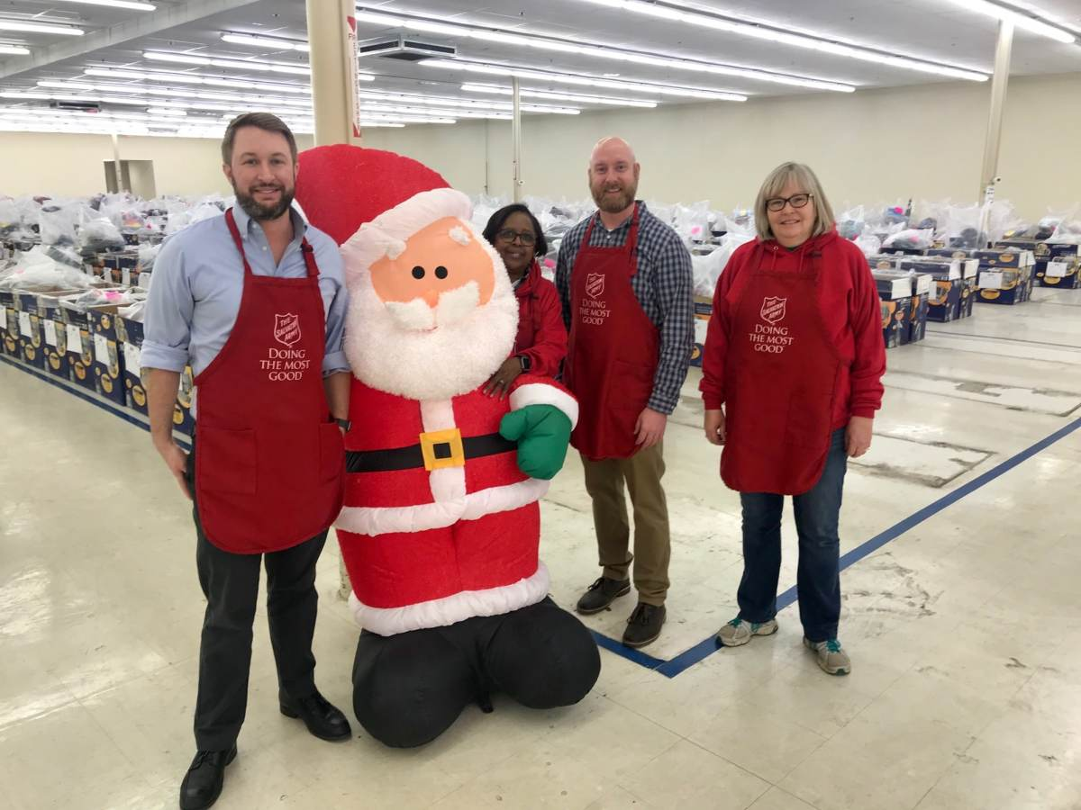 Vulcan Materials Company fulfills over 60 children's Christmas wish lists through The Salvation Army Angel Tree Program