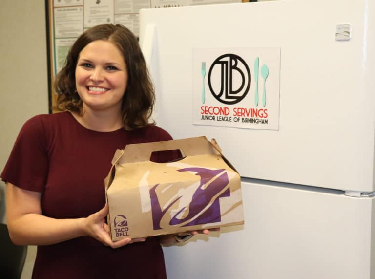 JLB Second Servings, a Junior League of Birmingham initiative, provides food to those in need