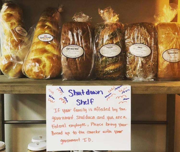 Birmingham, Alabama, shutdown relief for Birmingham federal employees, Great Harvest Bread Company