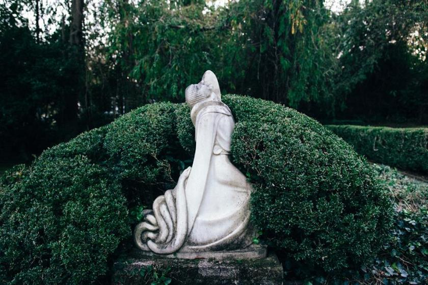 Birmingham, Alabama, Homewood, Pink House, Secret Garden