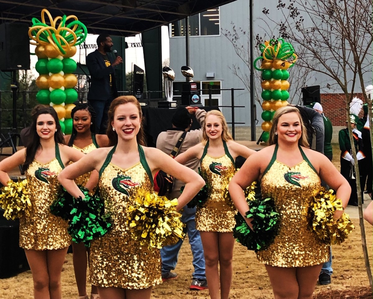 The first UAB Blazers Football Day was a blazin' success