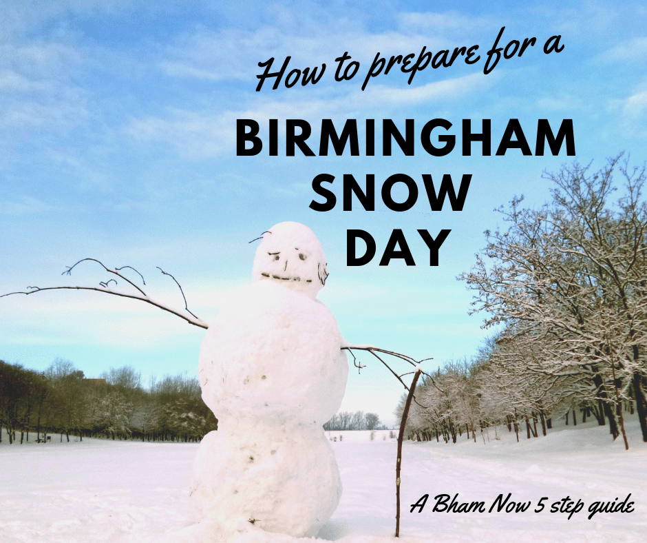 5 ways to prepare for a Birmingham snow day that don't include buying milk and bread