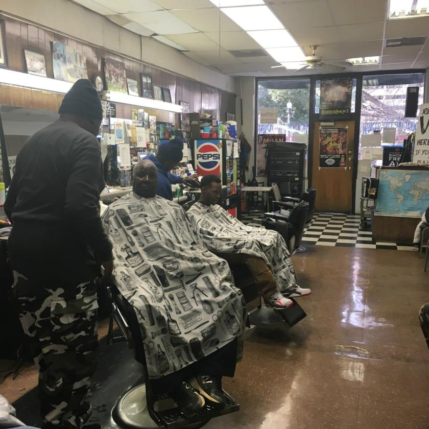 Talk of the Town is one of the Birmingham barbershops we featured.