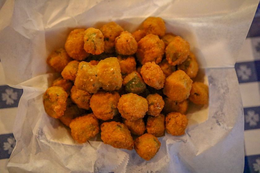 Birmingham, Alabama, Gus's Fried Chicken, The Battery, fried okra