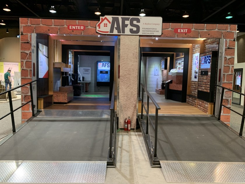 AFS booth