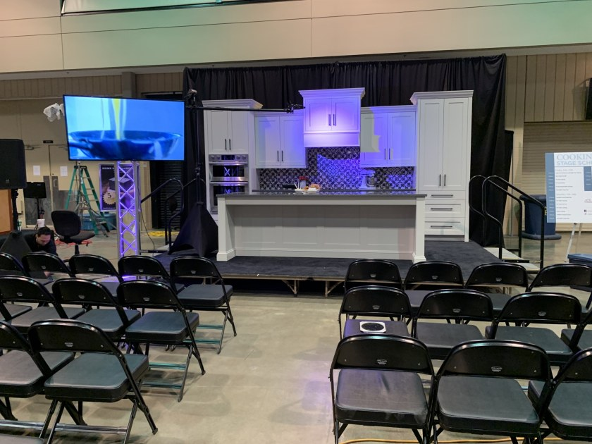 Local Cooking Demonstration Stage
