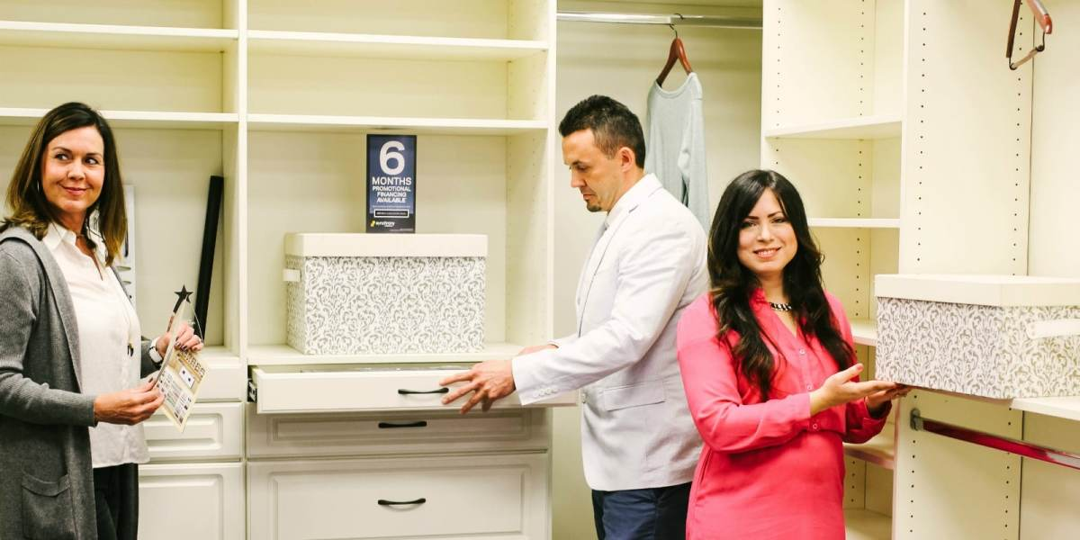 Top 6 Closets by Design products we're excited to see at the Birmingham Home Show. Plus a chance to win tickets on Bham Now's Instagram.