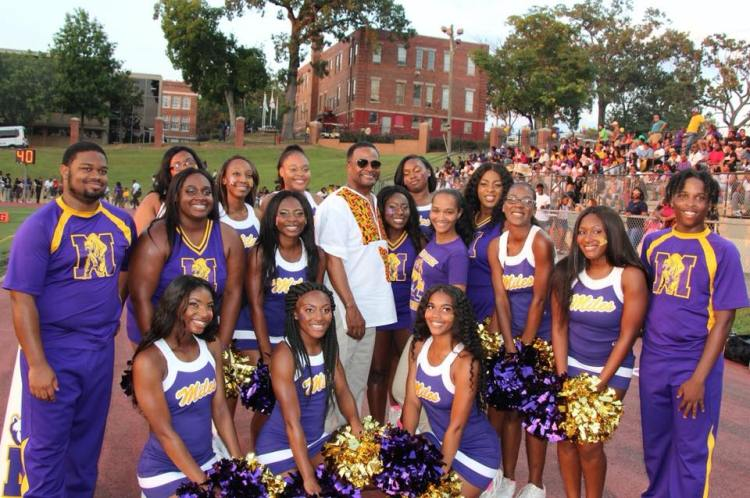 Birmingham, Alabama, Miles College, Cheerleaders, THE YARD