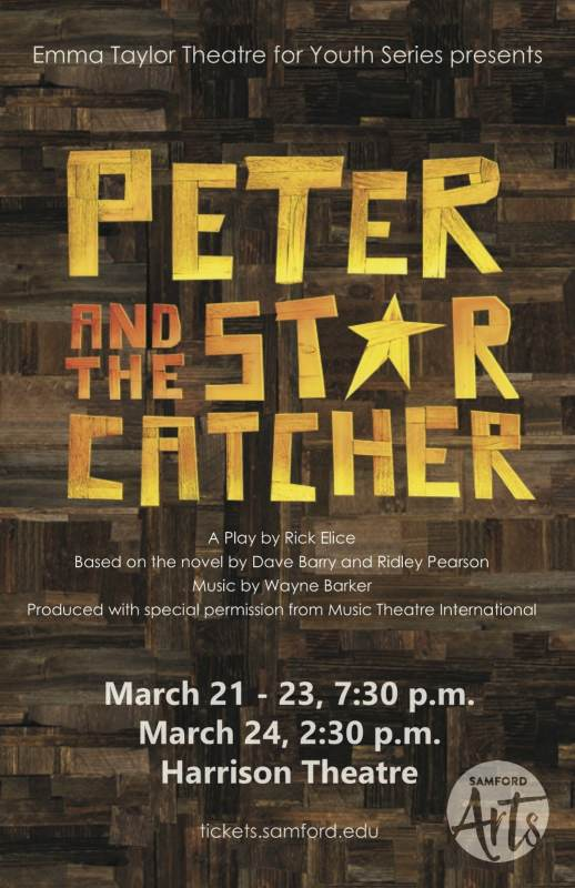 Spring shows at Samford include Peter and the Star Catcher.
